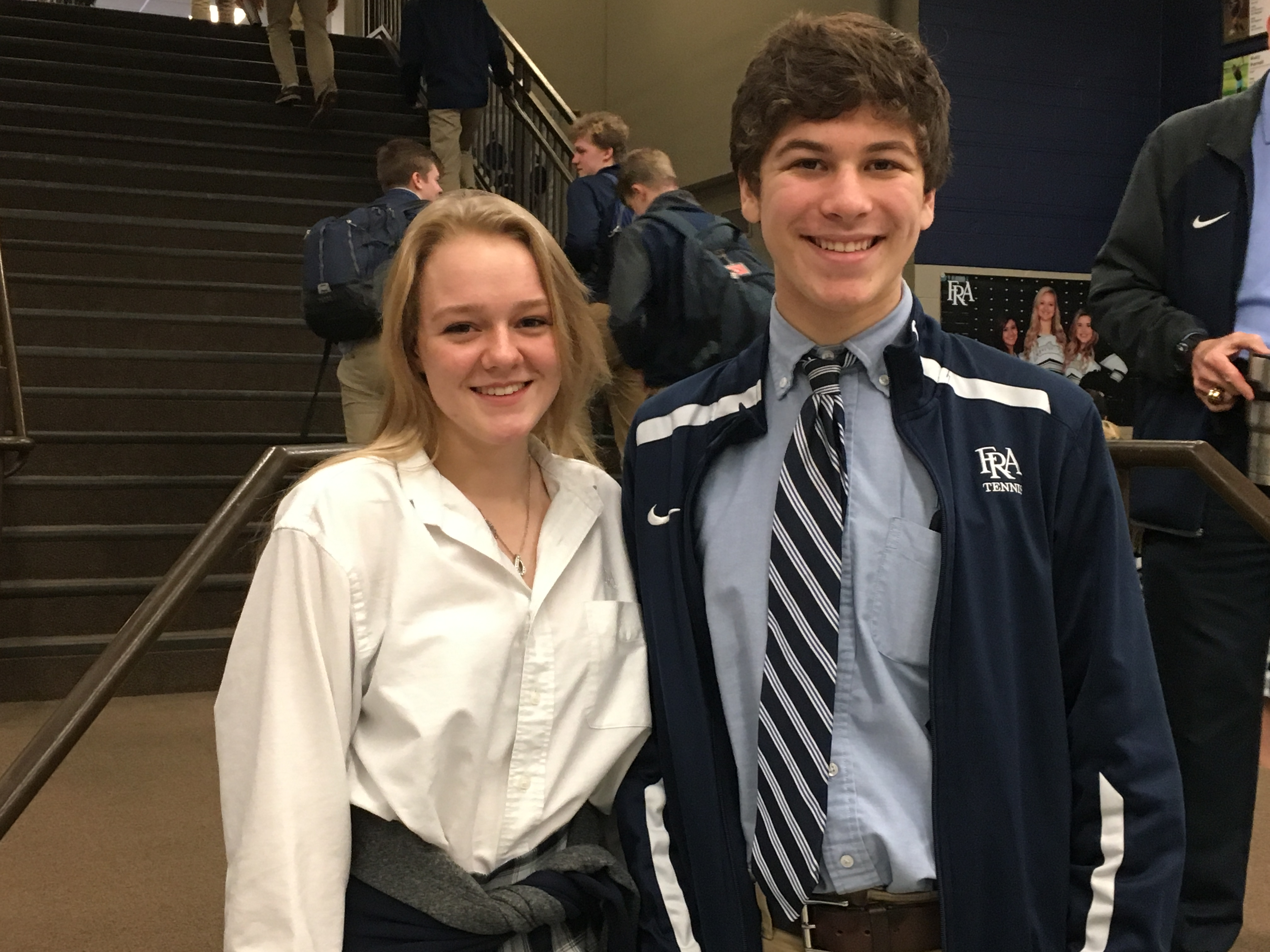 Maddie Cunningham, Jaden Holtschlag Accepted to Governor's School for the Arts